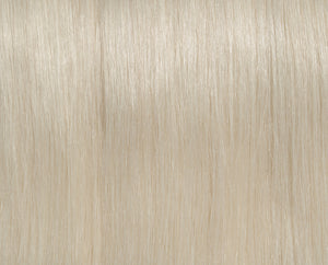 Silver (Ash) Blonde #100 Deluxe Clip-in hair extensions