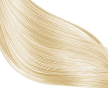 Load image into Gallery viewer, Bleach Blonde #613 Deluxe Clip-in hair extensions