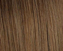 Load image into Gallery viewer, Medium Brown #6 Deluxe Clip-in hair extensions