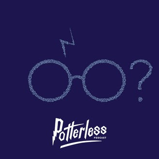 Poterless podcast logo.