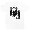 Black Cat Unisex T shirt