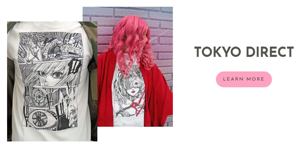 Learn more about Japanese artist Tokyo Direct.