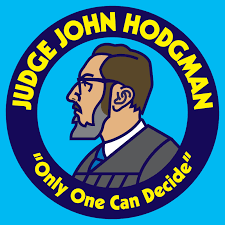 Judge John Hodgman logo.