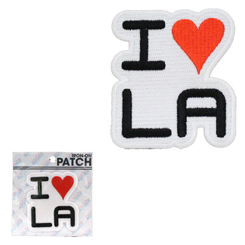 POPKILLER - I Love LA Sew/Iron on Patch