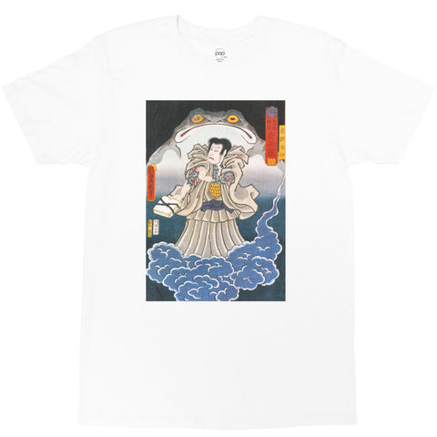 POPKILLER - Japanese Ukiyoe Frog Magic Men's T-shirt - 2