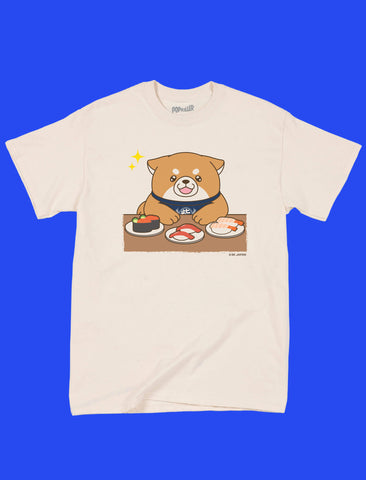 Popkiller Artist Series Mochishiba at Sushi Bar Classic T-shirt