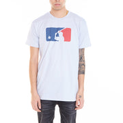 Grey samurai baseball graphic t-shirt by LA brand Popkiller.
