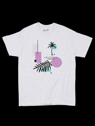 Memphis style California graphic tee by Los Angeles brand Popkiller.