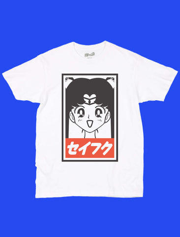 Anime Sailor Moon graphic t-shirt by LA brand Popkiller.