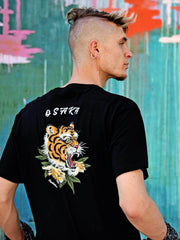 Tiger ska graphic tee by Los Angeles brand Popkiller.