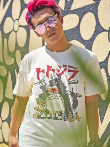 Unisex Totozilla tee by California brand Popkiller.