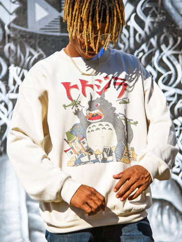 Totoro sweatshirt by Los Angeles brand Popkiller.