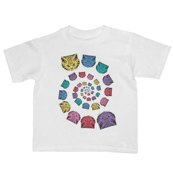 Spiral Cats Kid's T-shirt