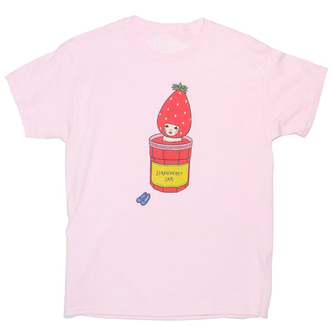 Popkiller Artist Series Naoshi Strawberry Jam Bath Classic T-shirt Heavyweight