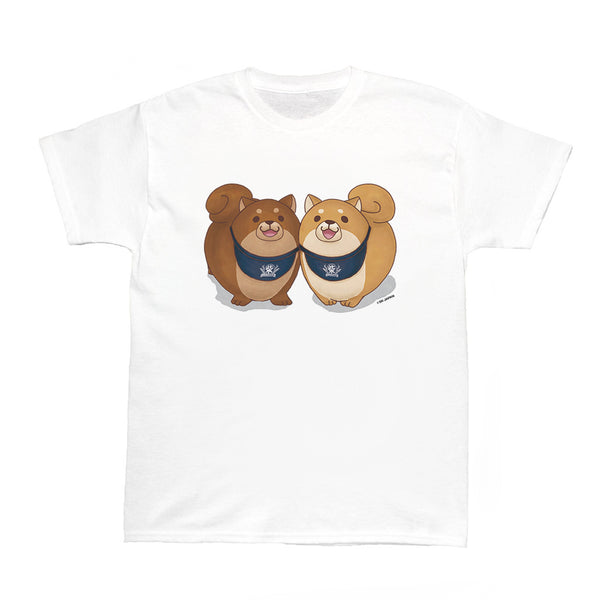 Popkiller Artist Series Mochishiba Tsuna and Okaka Women's T-shirt