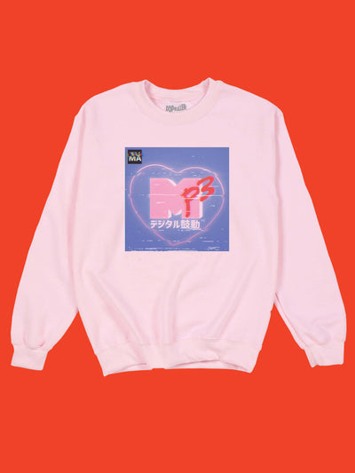 Kawaii MTV sweater by aesthetic artist Warakami Vaporwave.