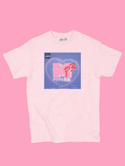 Kawaii MTV graphic tee by aesthetic artist Warakami Vaporwave.