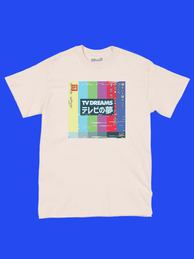 Glitch art graphic tee by aesthetic artist Warakami Vaporwave.
