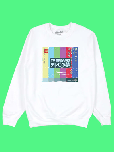 Glitch art sweater by aesthetic artist Warakami Vaporwave.