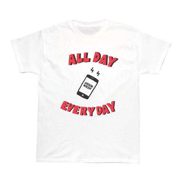 Popkiller Artist Series Brain Wash All Day Every Day Women's T-shirt