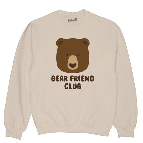 Bear Friend Club Pullover Sweatshirt