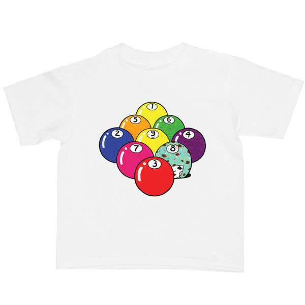 Popkiller Artist Series Naoshi Billiard Kid's T-shirt