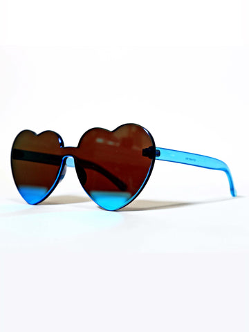 Celluloid Heart Glasses