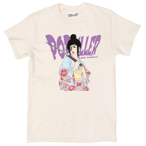 Unisex graphic t-shirt with an anime villain by anime artist Sagaken.