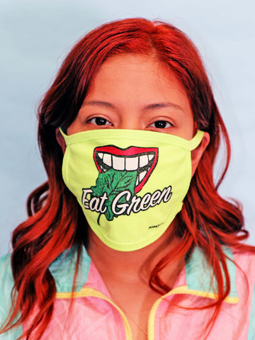 Eat Green Face Mask