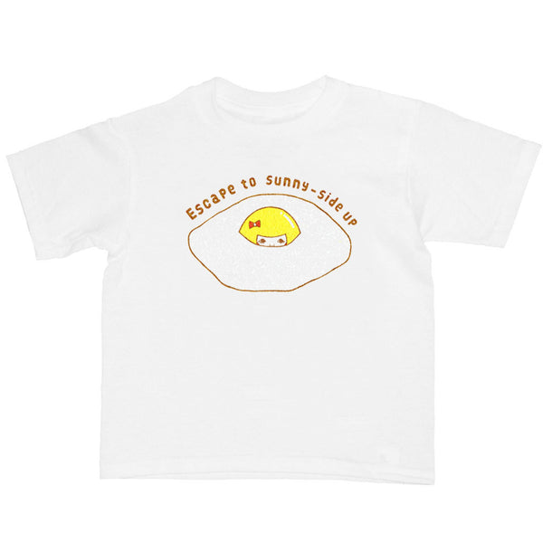 Popkiller Artist Series Naoshi Escape To Sunny-Side Up Kid's T-shirt