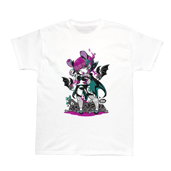 Popkiller Artist Series GRAPE BRAIN Gothic Lolita Women's T-shirt