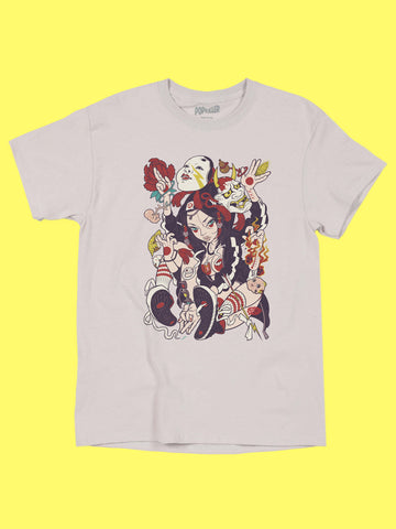 Popkiller Artist Series GRAPE BRAIN Asura Classic T-shirt