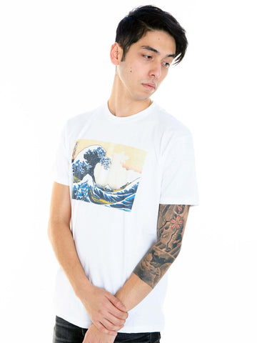 Japanese Ukiyoe Hokusai Great Wave Classic T-shirt