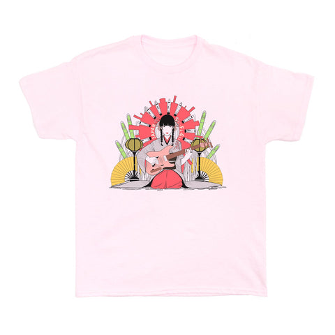 Popkiller Artist Series Sci Fi Girl Japan Girl Women's T-shirt