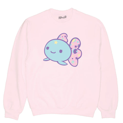 Kawaii Goldfish Pullover Sweatshirt