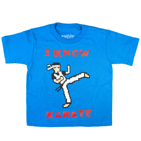 POPKILLER - I Know Karate Kid's T-shirt