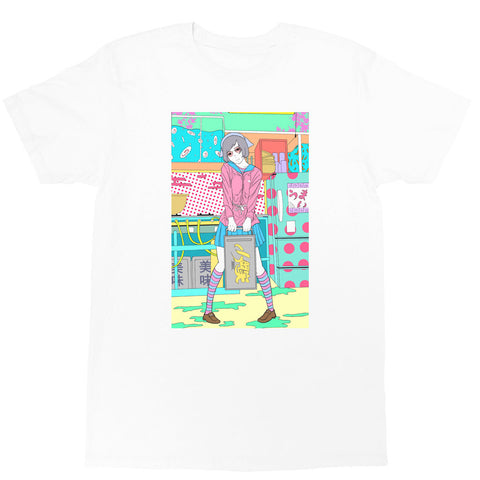 Popkiller Artist Series Sci Fi Girl Kitchen Classic T-shirt