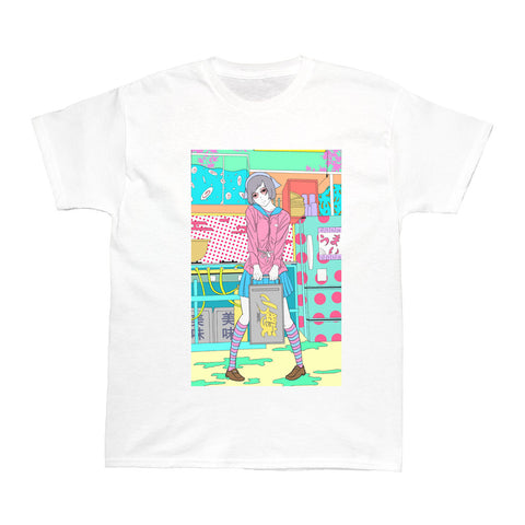 Popkiller Artist Series Sci Fi Girl Kitchen Women's T-shirt