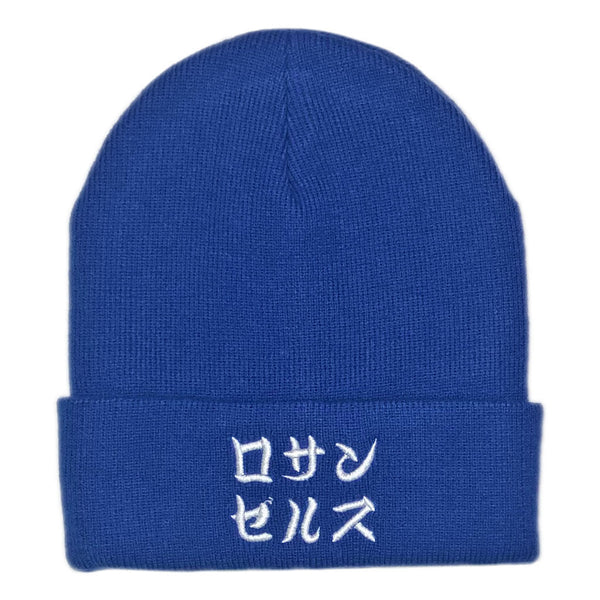 Los Angeles Beanie - Blue