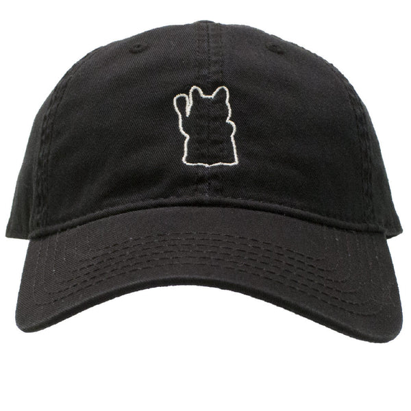 dad's hat japanese lucky cat