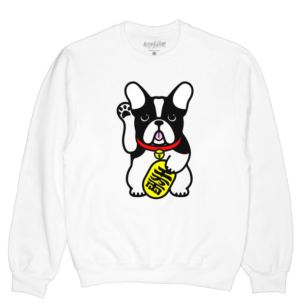 Lucky Dog Pullover Sweatshirt