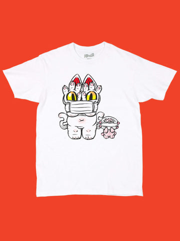 Popkiller Artist Series GRAPE BRAIN Masked Onigiri Classic T-shirt