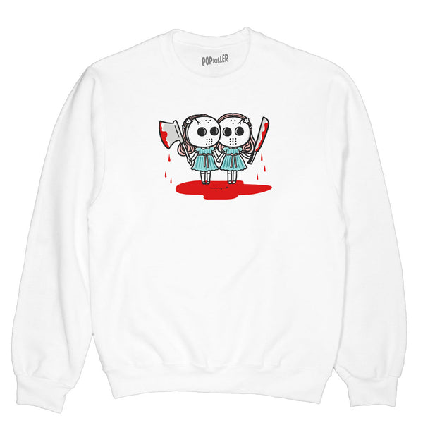 Popkiller Artist Series Mizna Wada Happy Friday the 13th Pullover Sweatshirt