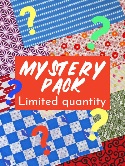 Mystery pack, limited quantity.