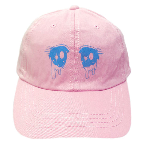 Namida Eyes Dad Cap - Light Pink
