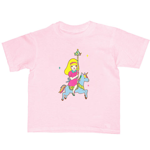 Popkiller Artist Series Naoshi Escape From A Merry-Go-Round Kid's T-shirt
