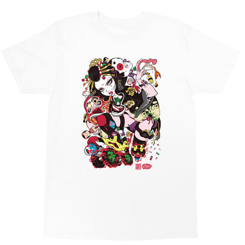 Popkiller Artist Series GRAPE BRAIN Oiran Classic T-shirt
