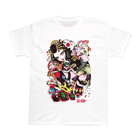 Popkiller Artist Series GRAPE BRAIN Oiran Women's T-shirt