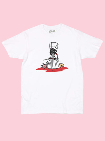 Menhera nurse graphic tee by Japanese artist Mizna Wada.