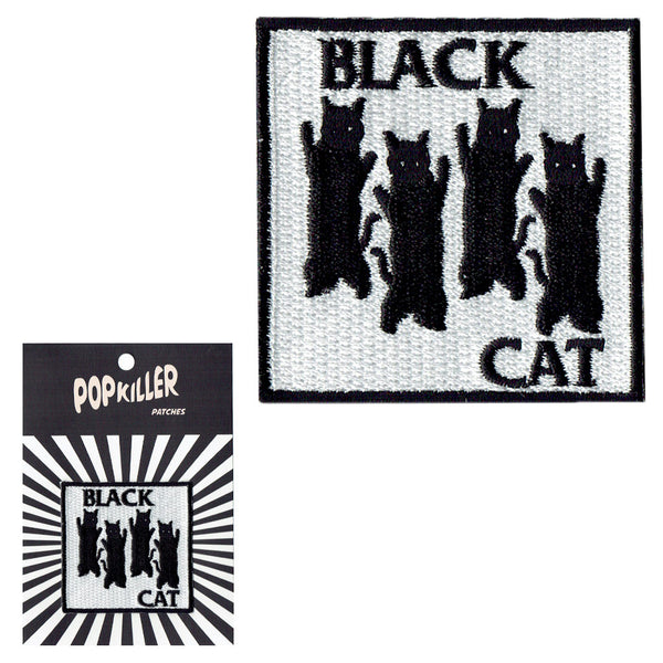 Black Cat Sew/ Iron on Patch